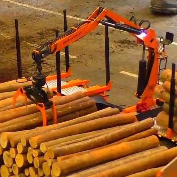 起重机应用木材加工行业工程案例