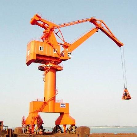 起重机应用建筑材料行业工程案例