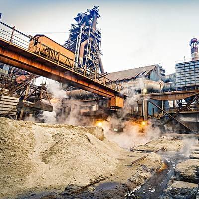 起重机应用废料管理行业工程案例