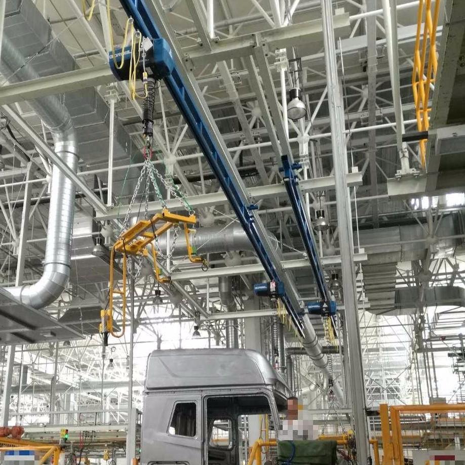 起重机应用汽车行业工程案例