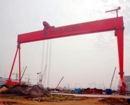 中国机械800t造船龙门起重机