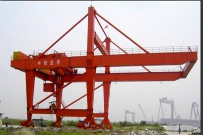 中铁宝桥MZX60t吊钩装卸桥