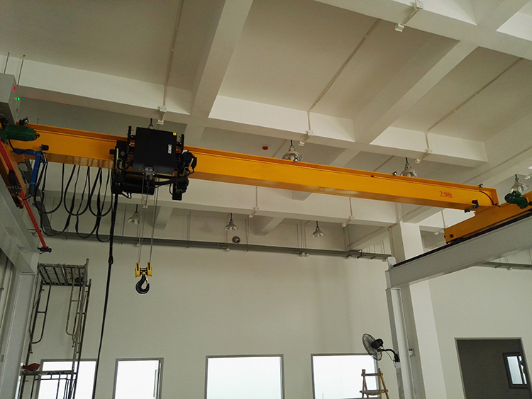 电梯厂家安装3.2t欧式单梁起重机