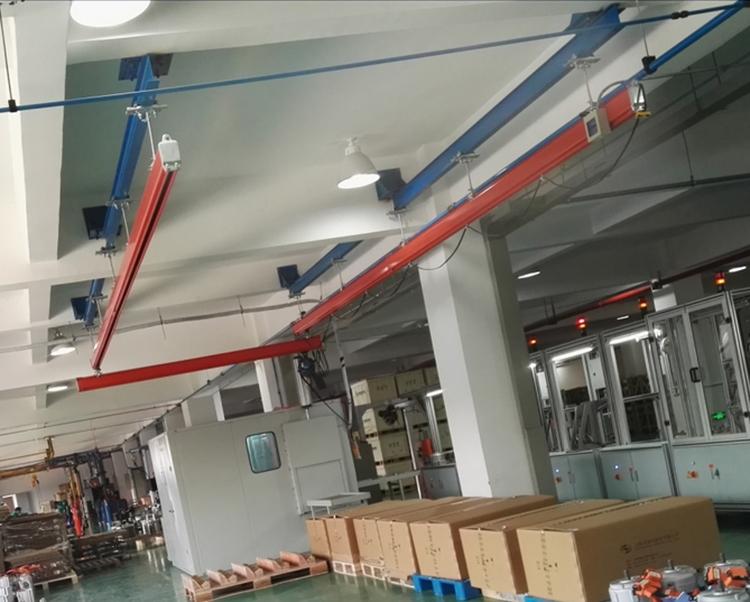500kg悬挂式KBK起重机安装工程案例